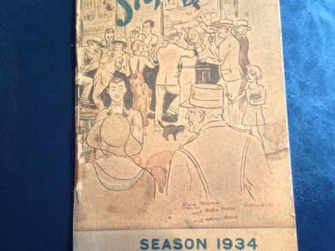 SLOPPY JOE BAR MANUAL 1934