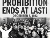 PROHIBITION END