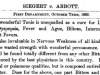 SIEGERTVS ABBOTT 1893 LABEL DESCRIIPTION AND CONTENTS OF ANGOSTURA